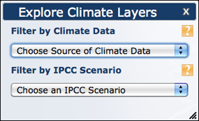 Explore Climate Layers